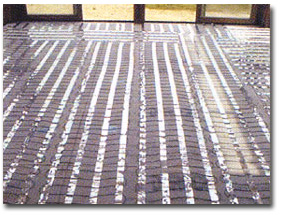 The Quickmat Radiant Heating System Heated Floor Mat