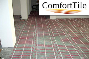 Radiant Floor Heating Systems And Options - Heating element for tile floor